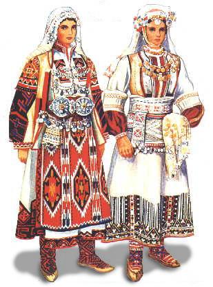 民族 衣装 ブルガリア
